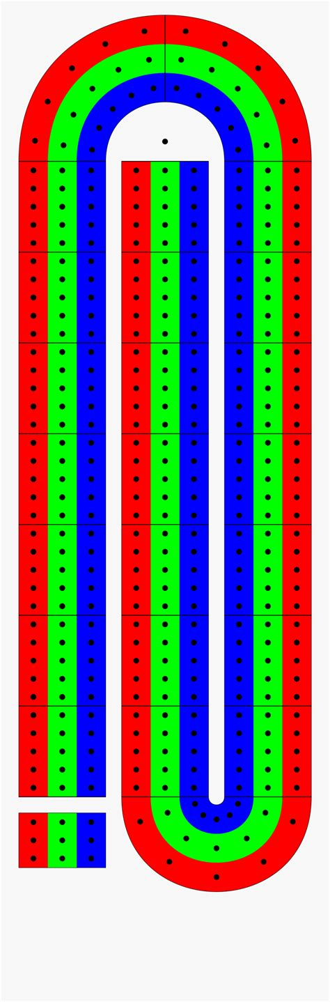 Cribbage Board Template Pdf