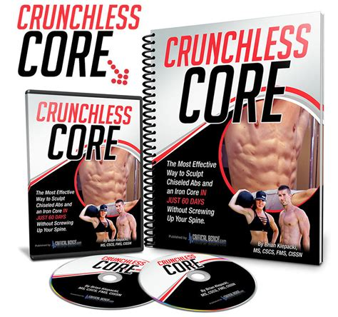 Crunchless Core Pdf Book Download: Workout Routines Brian.