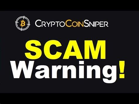 @ Crypto Coin Sniper Review - Dangerous Scam  Proof Inside .