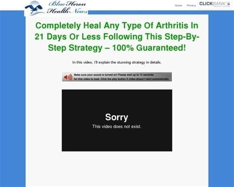 [click]cure Arthritis Naturally - Blue Heron Health News.