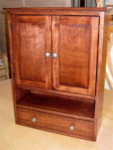 Custom Bathroom Wall Cabinets