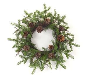 Cypress Wreath With Cone Set Of 2 24 D Information .