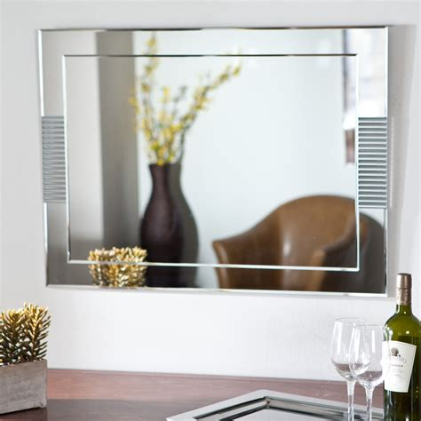 D  Cor Wonderland Francisca Large Frameless Wall Mirror .