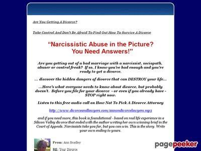 [click]divorcing A Narcissist And Other Jerks - E-Review Net.