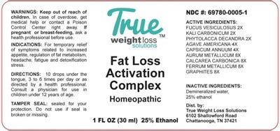 Dailymed - Fat Loss Activation Complex- Fucus Vesiculosus.