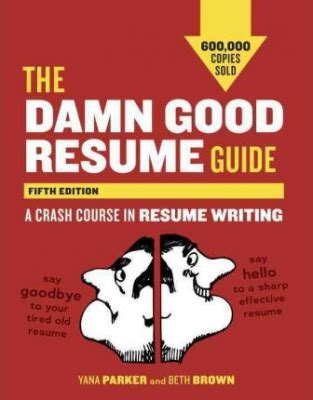 Damn Good Resume Guide Pdf