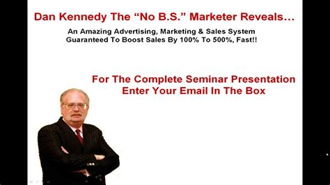 [click]dan Kennedy Magnetic Marketing Sales System Toolkit For Business Owners.
