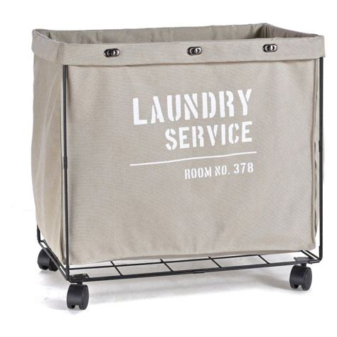 Danya B Army Canvas Laundry Basket - Amazon Com.
