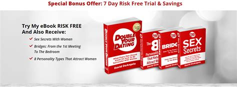 @ David Deangelo  S Double Your Dating Ebook Review   Does It Work .