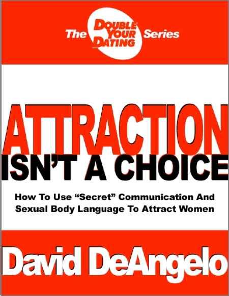 David Deangelos Attraction Isnt A Choice Ebook.
