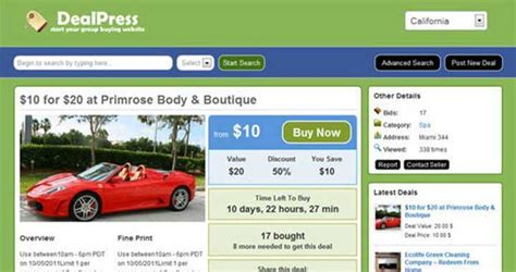 [click]dealpress Group Buying Theme  Daily Deals Theme .