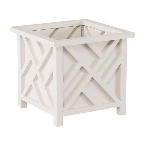 Deals On Pure Garden Box Planter White - Bhg Com.