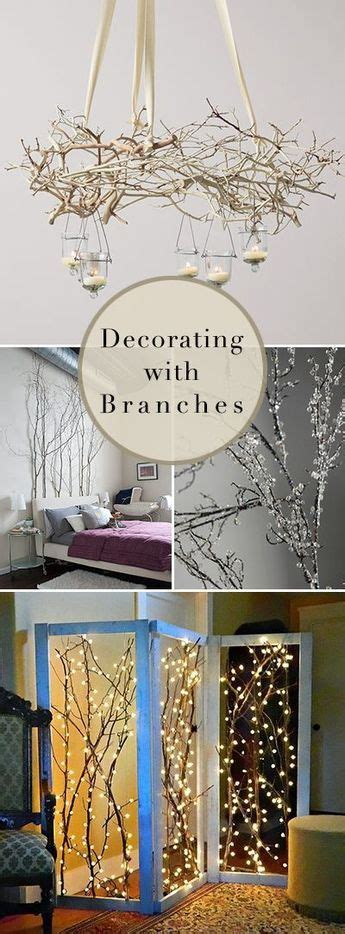 Decorating With Branches  15 Stylish Ideas  Projects .