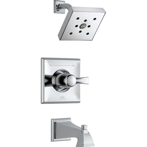 Delta Dryden Monitor 14 Series Tub And Shower Trim Chrome.