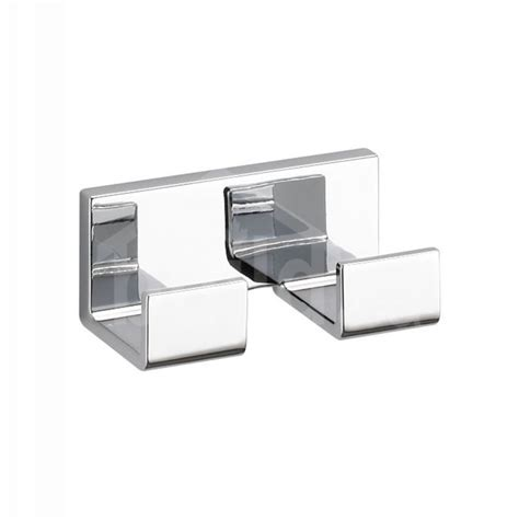 Delta Faucet 77736 Vero Double Robe Hook Polished Chrome.