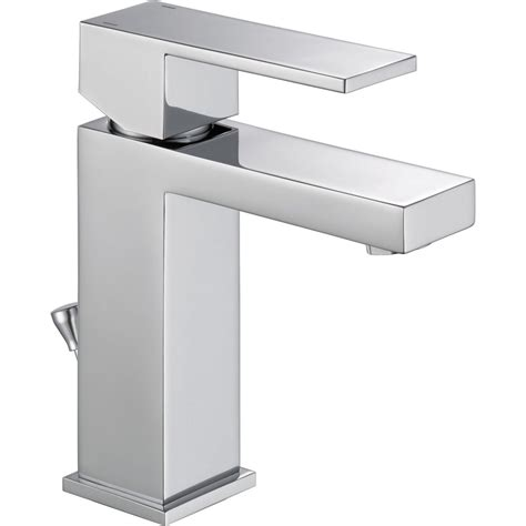 Delta Faucet Modern  Lavatory Faucet With Single Lever .