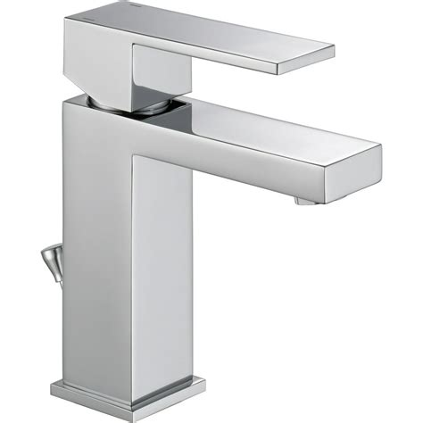 Delta Faucet Modern Single-Handle Bathroom Faucet With .