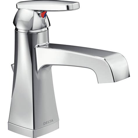 Delta Single Lever Handle In Chrome-Rp28595 - The Home Depot.