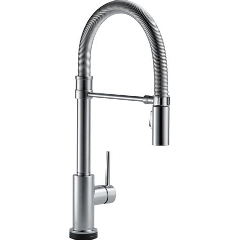 Delta Trinsic Pro Single-Handle Pull-Down  - The Home Depot.