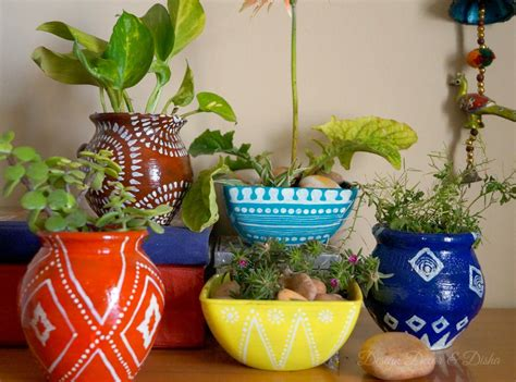 Design Decor  Disha Anthropologie Inspired Planters .