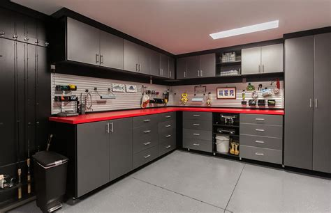 Design For Garage Cabinets