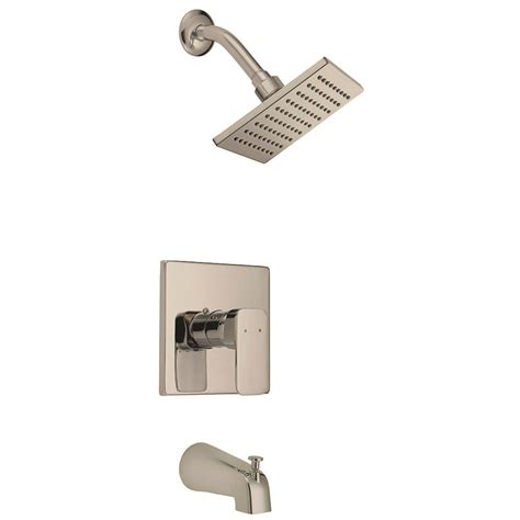 Design House 547612 Karsen Tub And Shower Faucet Satin .