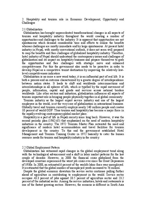 [pdf] Developments And Challenges In The Hospitality And Tourism .