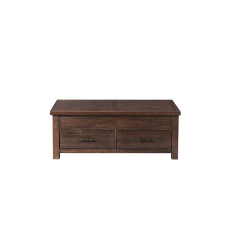 Dex Walnut Lift Top Coffee Table-Tjx100ctlt - The Home Depot.
