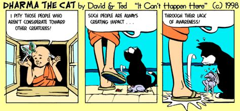 [click]dharma The Cat Cartoons - Philosophy With Fur.