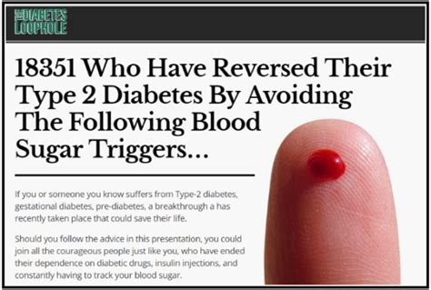 @ Diabetes Loophole Reviews - Is It Scam - Part 221.