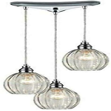 Diamond Lighting 46017 3 Danica 3-Light Pendant 10 By 9 .