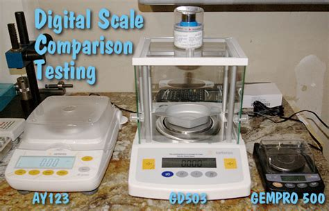 Digital Scales Gempro 500 Ay123 Sartorius Gd503 Within .