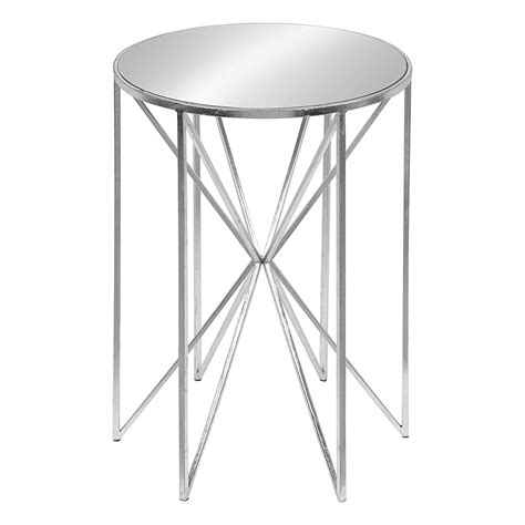 Discount Mirrored End Tables