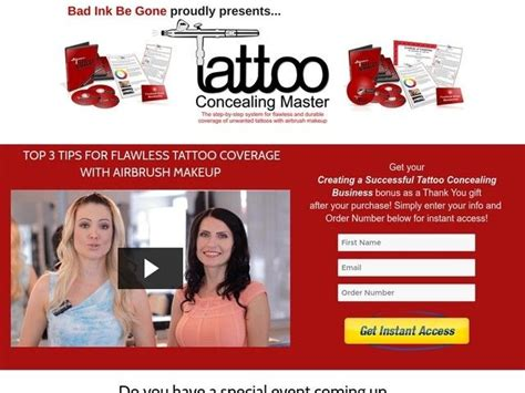 Discount Tattoo Concealing Master: Cover Unwanted Tattoos With.