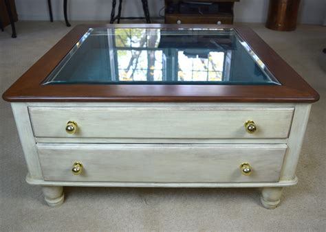 Display Coffee Tables Glass Tops