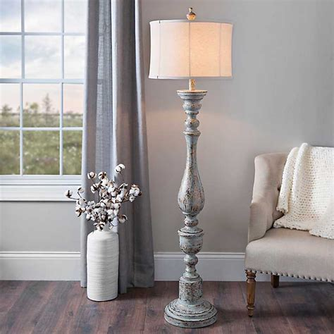 Distressed Eloise Floor Lamp  Kirklands.