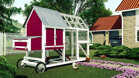 Diy Chicken Houses Or Coops For 6 Chickens