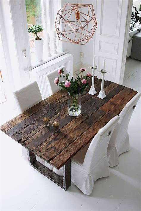 Diy Dining Room Table With 2?8 Boards