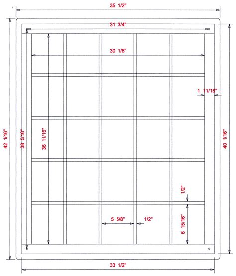 Diy Wood Plans Frame Shadow Box