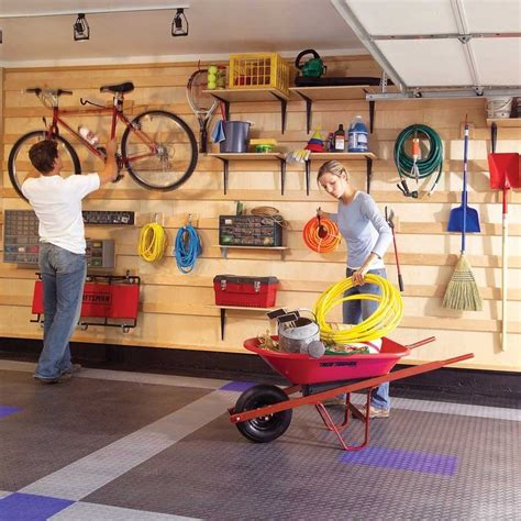 Do-it-yourself Garage Wall Storage Systems