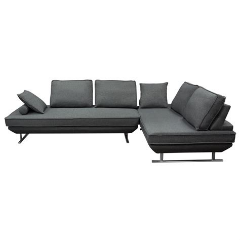 Dolce 2pc Lounge Seating Platforms With Moveable Backrest .