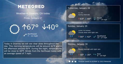 Downey CA Weather