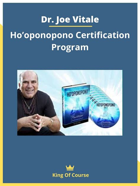 [click]dr Joe Vitale Ho Oponopono Certification Course Review.