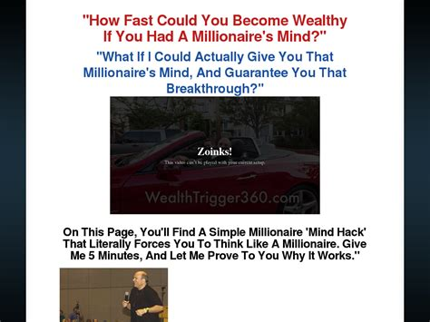 [click]dr Joe Vitale Wealth Trigger 360 Review - Video Dailymotion.