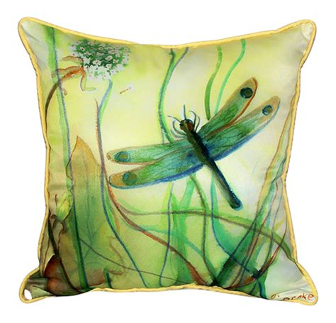 Dragonfly Pillow  Ebay.