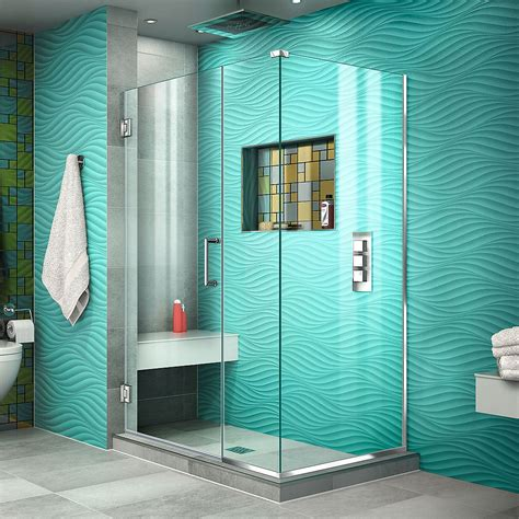 Dreamline Showers Unidoor Hinged Shower Door.