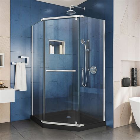 Dreamline Prism 36 Dx36 Wx74 3 4 H Pivot Shower .