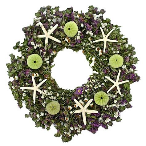 Dried Flowers And Wreaths Llc Ariel S Garden Wreath  Wayfair.