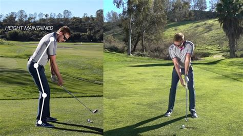 Drills On How To Shorten Your Backswing : Golf Tips Golf Video Hub.