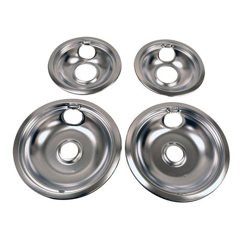 Drip Pans For Electric Ranges 4-Pack - The Home Depot.